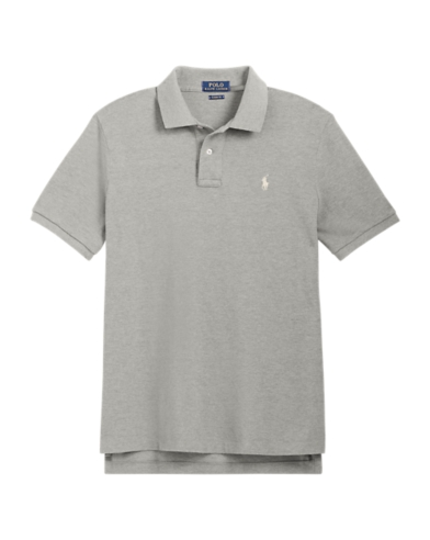 €139.00 Polo Ralph Lauren Big /& Tall Classic Fit Mesh Polo Andover Grey RRP