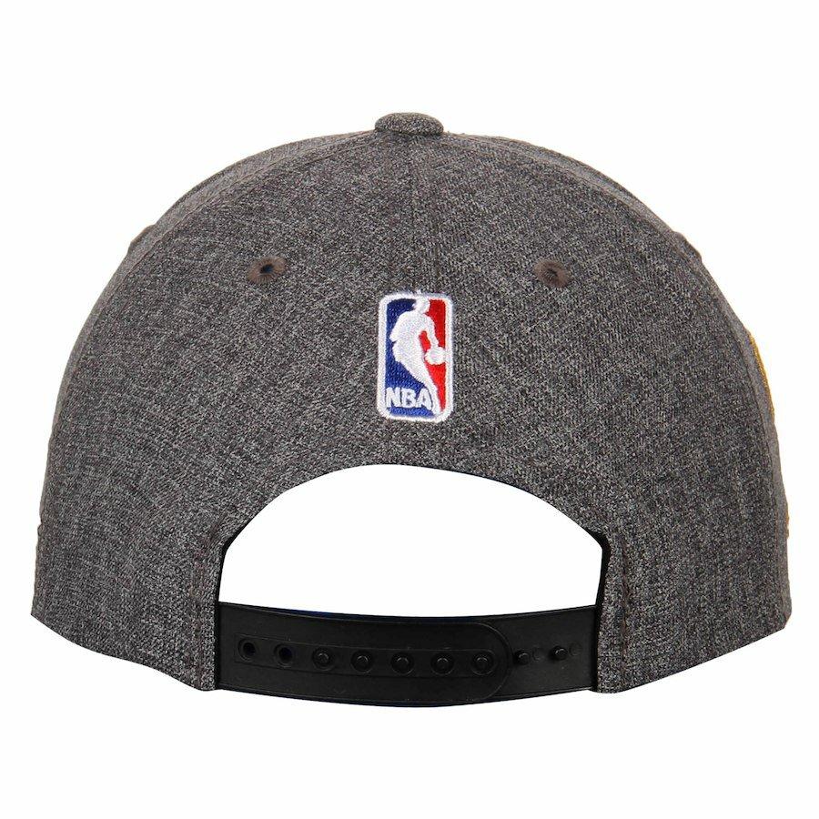 bfc90bb915889 Men s Golden State Warriors adidas Heathered Gray 2016 Western Conference Champions  Locker Room Adjustable Snapback Hat